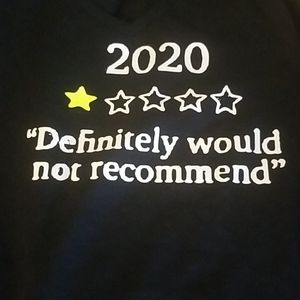 Tshirt says 2020 with one star